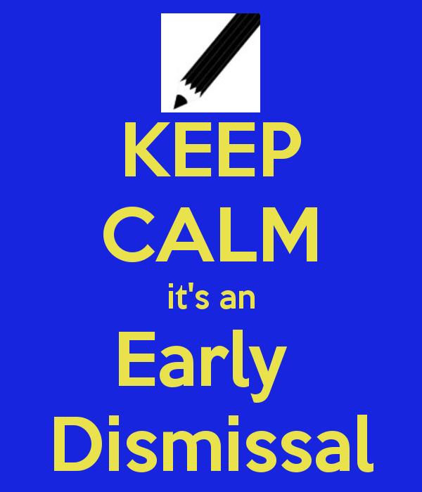 Image result for images early dismissal for children